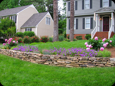 Dry Stack Stone Walls