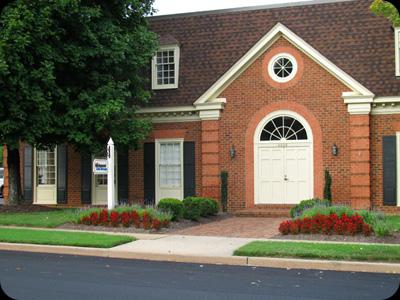 Formal Office Entrance