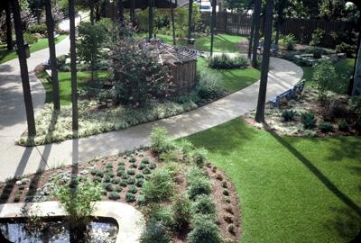 Landscape Design Busch Gardens